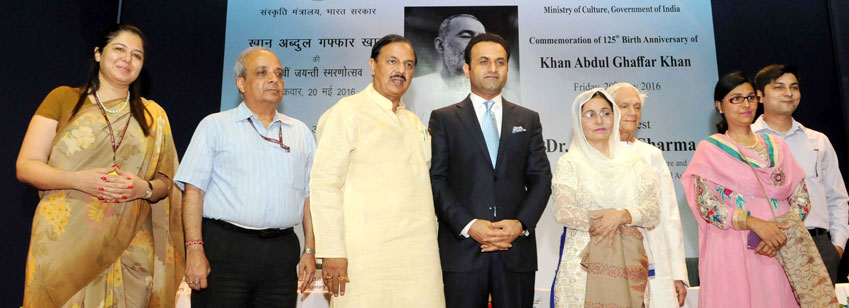 The Minister of State for Culture & Tourism (I/C) and Civil Aviation, Dr. Mahesh Sharma with rel...