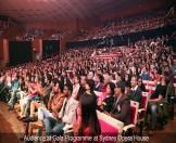 Audience at Gala Programme at Sydney Opera House