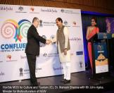 Hon'ble MOS for Culture and Tourism (IC), Dr. Mahesh Sharma with Mr John Ajaka, Minister for Multiculturalism of NSW