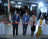 Inauguration of Contemporary Indian Art Exhibition by Ambassador of India to the Kyrgyz Republic and other Kyrgyz dignitaries, held at the National Museum of Fine Arts, Bishkek on 18  October 2016. The exhibition featured some of the finest Indian Artists